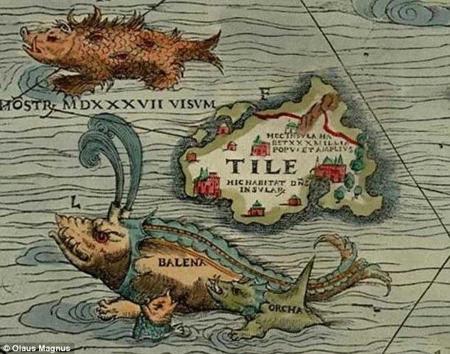Иниш Тыле — мифический остров, описанный греческим путешественником Пифеем. На разных морских картах он расположен в разных локациях. В качестве обложки статьи взята полная версия карты, здесь — отрывок с островом Тыле.